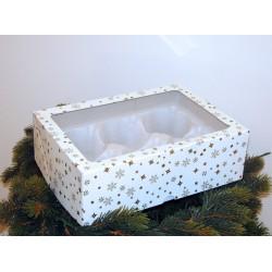 Dárková krabička na 6 kuliček o velikosti 8 cm