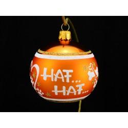 Vánoční koule K-P-K s nápisem na přání